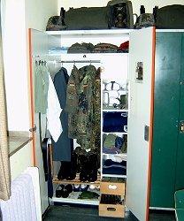 Bundeswehr Schrank Ordnung Das Kleiderschrank Projekt